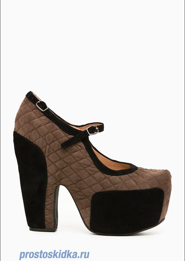 Туфли Jeffrey Campbell STUNNER_JC0604BROWN