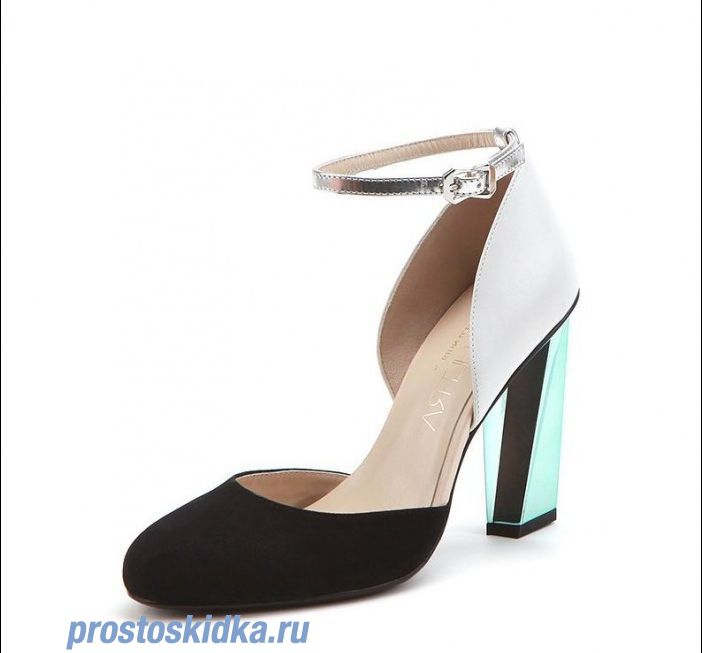 Туфли United Nude Glare Off White + Black