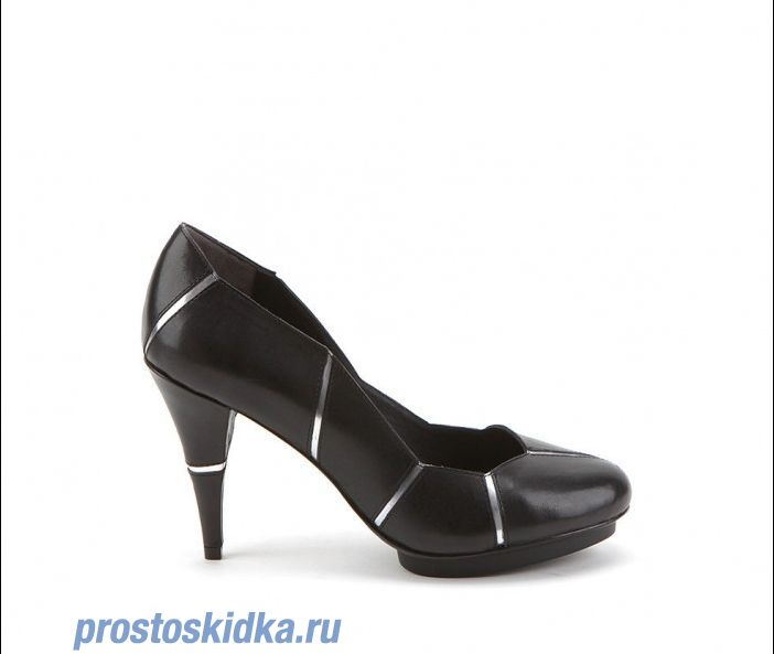 Туфли United Nude Mosaic pump Black silver